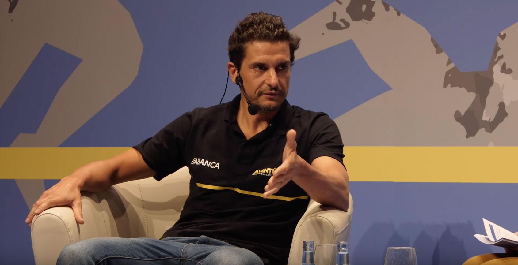 Iván Raña, protagonista do primeiro encontro de Aventúrate